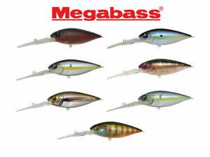 Megabass DEEP-SIX 8cm 25g Fishing Lures (Choice Of Colors)