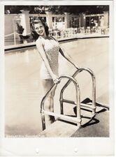 RITA HAYWORTH vintage Original keybook Photo By WHITEY SCHAFER Pinup Cheesecake