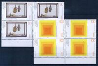 Deutschland Bund 1993 Mi. 1673-1674 Postfrisch 100% Kunst, vierer block