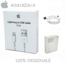 Cavo DATI Originale Usb Per iPhone 5 5S 6 6S 7 plus SE 8PIN MD818ZM/A Lightning