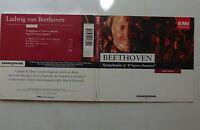 CD Album BEETHOVEN Symphonie N°9 avec choeurs ANDRE CLUYTENS 4 89135 2