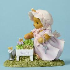 Cherished Teddies Erma Herbs Always Thyme For Gardening New 4045933 Spring