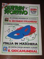 GUERIN SPORTIVO=N°8 1982=PS&M LENE LOVICH=CALCIOMONDO=POSTER ESPANA 82