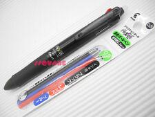 Pilot FriXion Ball 3 0.5mm Erasable Rollerball Gel Multi pen+3 Refills, Black