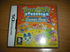 TAMAGOTCHI  CORNER SHOP 3  !  JEU DS / LITE / DSI