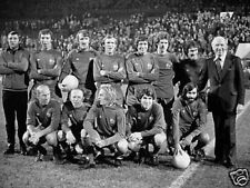 Man Utd 1968 Wonder Team BW Great 10x8 Photo