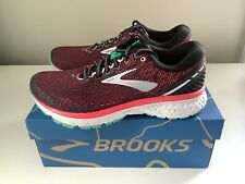 NEW Brooks Ghost 11 Women's Running Shoes - Pink/Black - Sz 8 D Wide