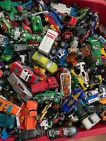 1b- UNSEARCHED Lot 40+ Cars / Vehicles Hot Wheels, Matchbox, Disney, Tonks ECT.