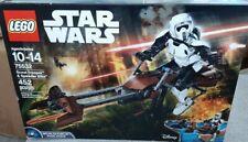 2017 Lego 75532 Star Wars SCOUT TROOPER & SPEEDER BIKE 6175313 New