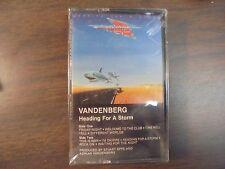 """NEW SEALED """"Vandernberg"""" Heading For a Storm  Cassette  Tape   (G)"""