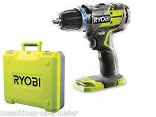 Ryobi Koffer leer, ohne Inh. für brushless Akkuschrauber, 2 Akkus und Ladegerät