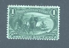 USA 1898 Trans-Mississippi Exposition, 1c green, very small fault, Mint No Gum