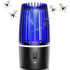 Electric Mosquito Killer Lamp Fly Insect Bug Pest Zapper Catcher UV LED Lamp USB