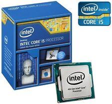 NUOVO processore Intel Core I5-4590 CPU Quad Core Socket 1150 84W 3.3GHz > 3.7GHZ di cache 6MB