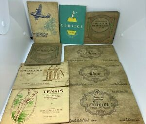Large Job Lot Cigarette Cards In Original Books  - Valuable Cards Inc MUST LOOK!