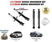 2x Front /& 2 x Rear Shock Absorber for Chrysler PT Cruiser 2001-2010 SSA//PT//006A