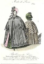PETIT COURRIER DES DAMES   MODES DE PARIS   FASHION PLATE   OCT 1834