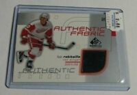 R1926 - LUC ROBITAILLE - 2002 SP GAME USED - FABRIC JERSEY - RED WINGS -