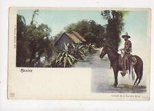 Mexico Soldado De La Guardia Royal Vintage U/B Postcard 114b