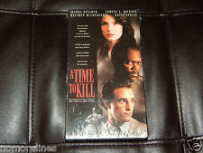 A Time to Kill (VHS, 1996) Brand New! Bullock McConaughey Jackson Free Shipping!
