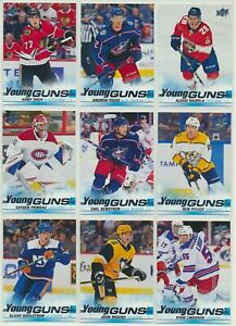 2019-20 Upper Deck Series 2 YOUNG GUNS Rookie U-Pick COMPLETE YOUR SETS