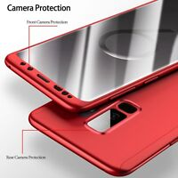 360 Degree Full Cover Phone Cases For Samsung Galaxy S9 S9 Plus Shockproof Case