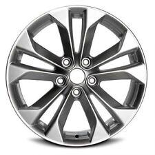 "Aluminum Alloy Wheel Rim 17 Inch 10 Spoke 5 Lug 4.5"" Fits: 14-18 Nissan Rogue"