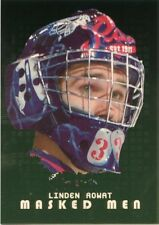 08-09 BETWEEN THE PIPES MASKED MEN GOLD MASK /10 #MM-36 LINDEN ROWAT *44421