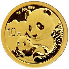 2019 10 Yuan Gold Chinese Panda .999 1g Brilliant Uncirculated Sealed