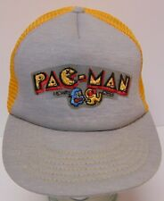 Vintage 1981 PAC-MAN MIDWAY Arcade Video Game Atari SNAPBACK TRUCKER HAT CAP