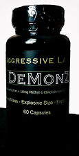 Aggressive Labz DeMonZ Alpha-1+DMZ 60 Capsules Very Potent (Limited Supply)