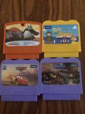 V-Tech V-Smile V-Motion Lot Of 4 Games Ratatouille Kung Fu Panda Cars Pc Pal
