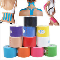 1X 5m x 5cm Kinesiology Sports Muscles Care Elastic Physio Therapeutic Tape KY