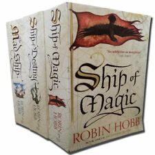 Robin Hobb 3 Collection Books Set The Liveship Traders Ship Paperback NEW