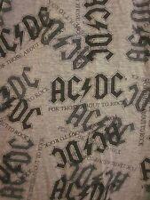 AC-DC lounge pants Australia rock logo For Those About To Rock pajama throwback