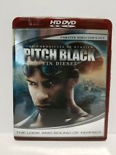 Pitch Black Unrated Directors cut: HD DVD movie - NO SCRATCHES - with Warranty