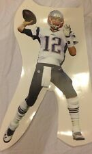 "TOM BRADY #12 Patriots MVP QB 22"" x 12"" FATHEAD Junior Size Wall Graphics Vinyl"