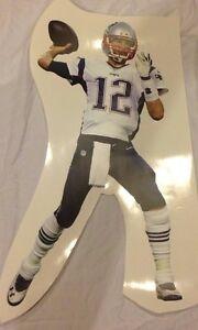 "TOM BRADY #12 Patriots MVP QB 22"" x 12"" FATHEAD Junior Size Wall Graphics Vinyl"