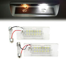 1 Pair Error Free 18 LED Number License Plate Lights Lamp For BMW X3 X5 E53 E83