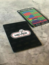 Never Split 10's Blackjack Strategy Plastic Card
