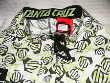 "Surfing Santa Cruz Clothing Board Shorts Surf Chinook UK Size Small Appx 30"""