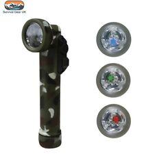 Kombat 6 DEL 4 COULEUR Angle Torche & Lampe De Poche Como (utilise 2X Piles AA)