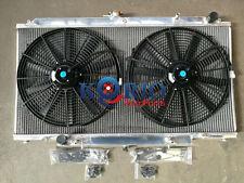 """Alloy Radiator&16"""" Fan NISSAN PATROL GU Y61 2.8TDI RD28 / 3.0D ZD30 CR 97-13 AT"""