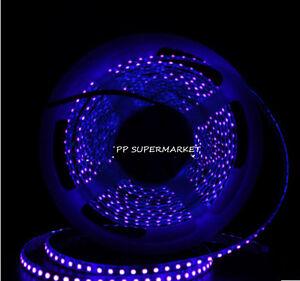 5M 12V 3528 395-405nm UV Ultraviolet waterproof 120led/m Strip black light