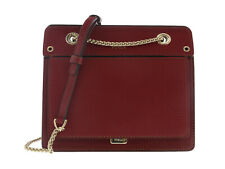 FURLA LIKE BQA3 Maroon Crossbody Bag w/chain