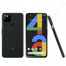 "Unlocked Google Pixel 4a 5G GA02293-US 6.2"" FHD+ OLED 128GB RAM 12.2MP Black"
