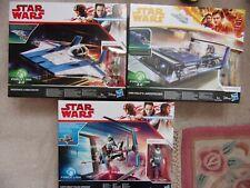 Star Wars 3x Canto Police Speeder Han Solo Landspeeder Resistance A-Wing Fighter