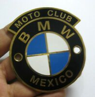 Car Badge- Motor club BMW Mexico car grill badge emblem logos metal enamled badg