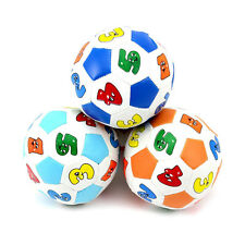 Preschool Learning Color Number Educational Toy Rubber Ball For Children Kids