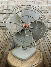 Vintage General Electric Fan Oscillating Gray